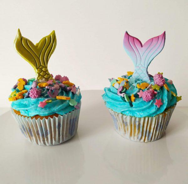 Cupcakes-Sirène