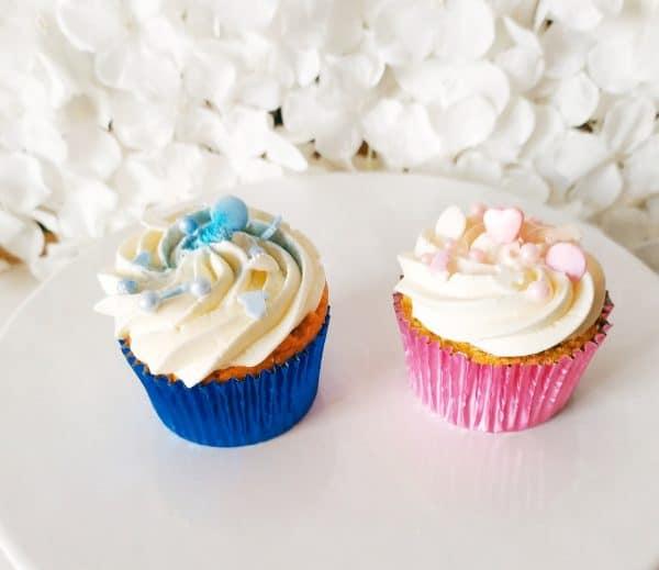 "Cupcakes Babyshower <div style=""font-size:18px"">(Boite 12 pièces)</div> cupcake"