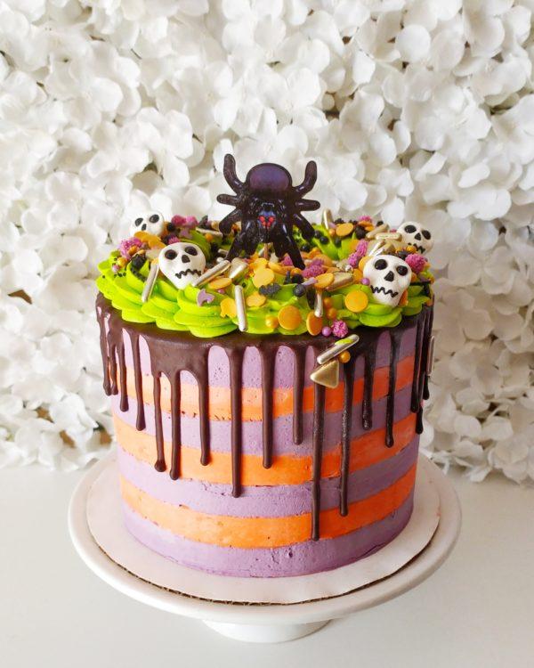 Le gâteau spécial Halloween